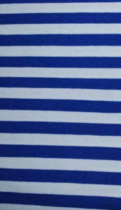 ROYAL BLUE STRIPES - Baby Bums Clothing