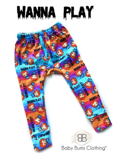 RTS WANNA PLAY POCKET SWEAT PANTS - Baby Bums Clothing