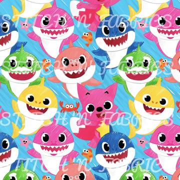 RTS SKETCH SHARK SWIM - Baby Bums Clothing
