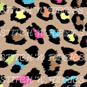 RTS NEON LEOPARD SWIM - Baby Bums Clothing