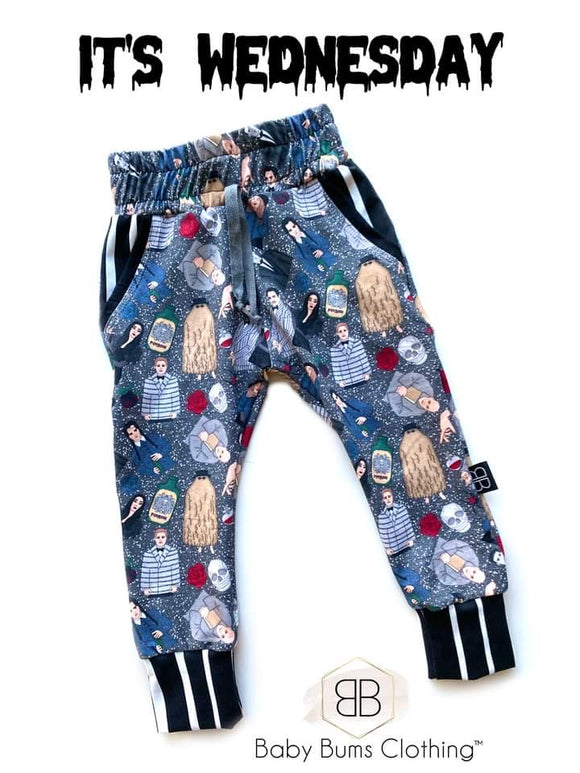 RTS ITS WEDNESDAY LUCAS JOGGERS - Baby Bums Clothing