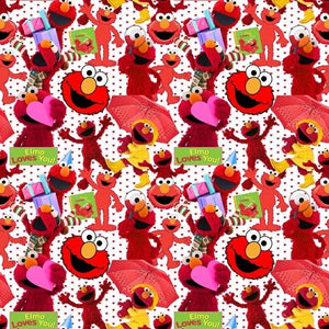 PREORDER ELMO LOVES YOU ALL - Baby Bums Clothing