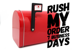 Rush 7 Business Days (weekends excluded) - Baby Bums Clothing