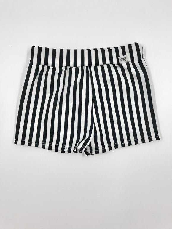 Vertical stripes Euro swim - Baby Bums Clothing
