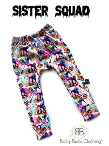 RTS SISTER SQUAD POCKET SWEAT PANTS - Baby Bums Clothing