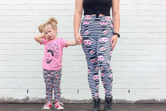 RTS Don't Drake My Heart MAMA LEGGINGS - Baby Bums Clothing