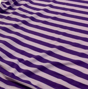 PURPLE AND LAVENDER STRIPES - Baby Bums Clothing