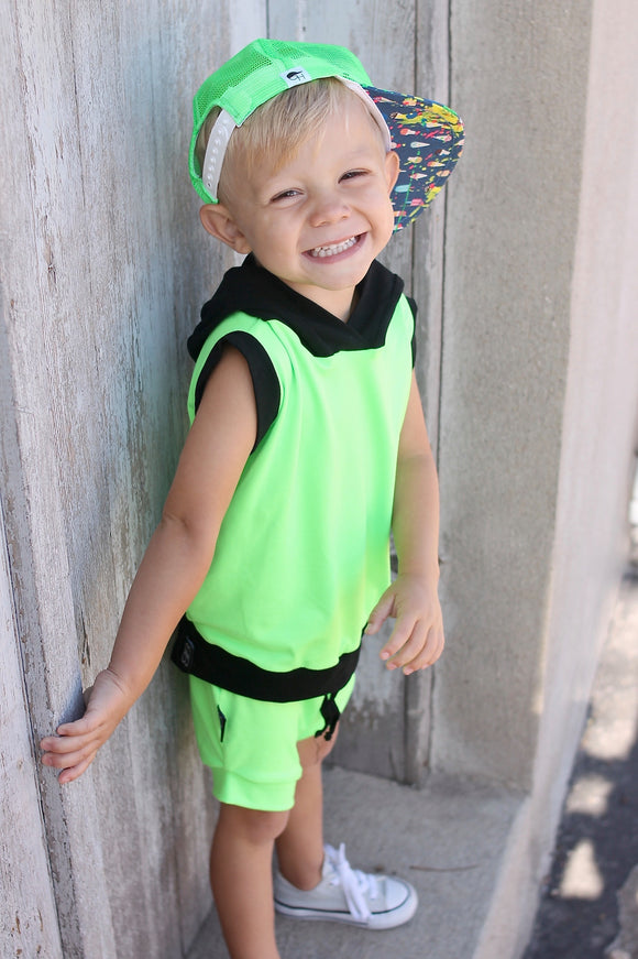 LIME GREEN - Baby Bums Clothing