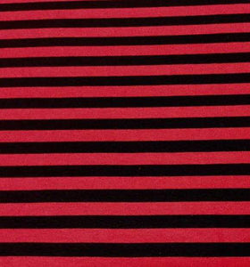 BLACK AND RED STRIPES - Baby Bums Clothing
