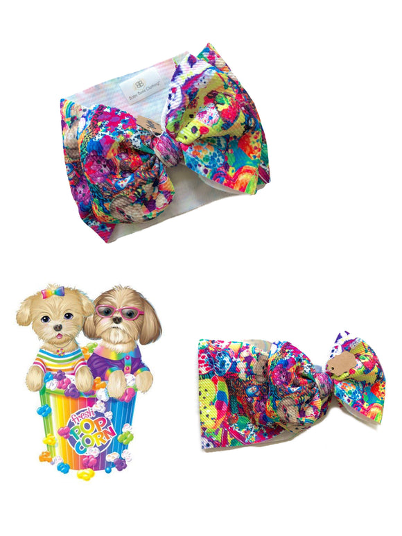 RTS 90'S GIRL BOW WRAP - Baby Bums Clothing