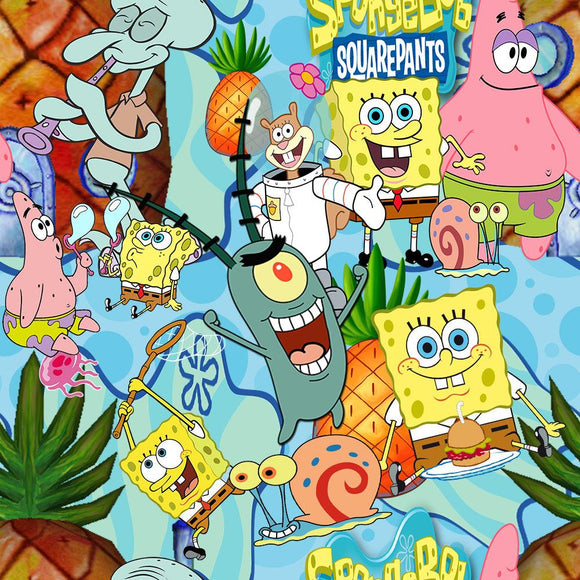 PREORDER PINEAPPLE UNDER THE SEA - Baby Bums Clothing