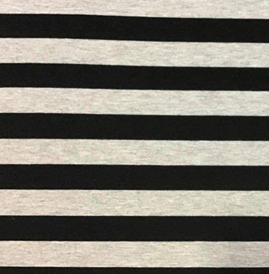 BLACK AND GREY STRIPES - Baby Bums Clothing