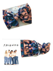 RTS I'LL BE THERE FOR YOU BOW WRAP - Baby Bums Clothing