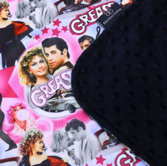 RTS GREASE LIGHTNING BLANKET - Baby Bums Clothing