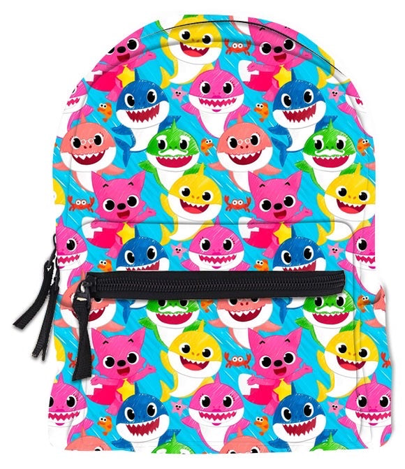 RTS MINI BACKPACK SKETCH SHARK FAMILY - Baby Bums Clothing