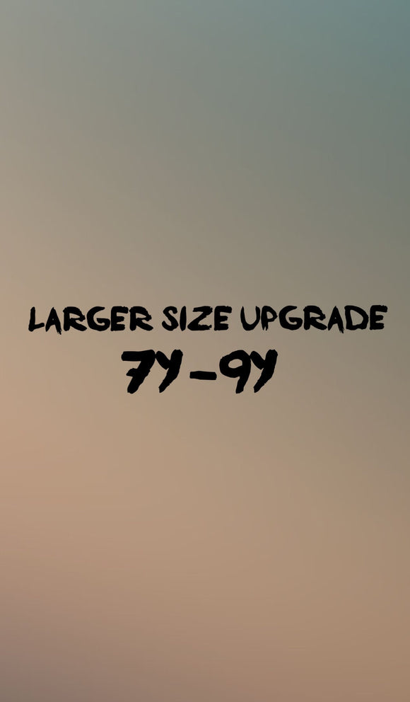 Larger size upgrade - Baby Bums Clothing