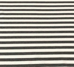 CHARCOAL STRIPES - Baby Bums Clothing