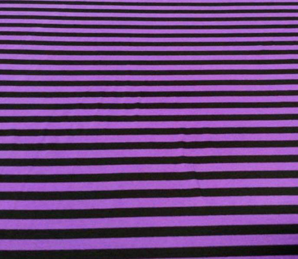 PURPLE AND BLACK STRIPES - Baby Bums Clothing