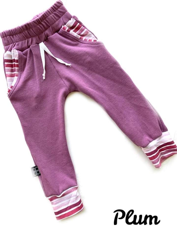 PLUM LUCAS JOGGERS - Baby Bums Clothing