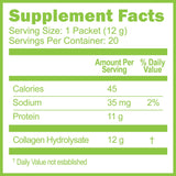 Collagen Hydrolysate Convenience Pack 20 Count