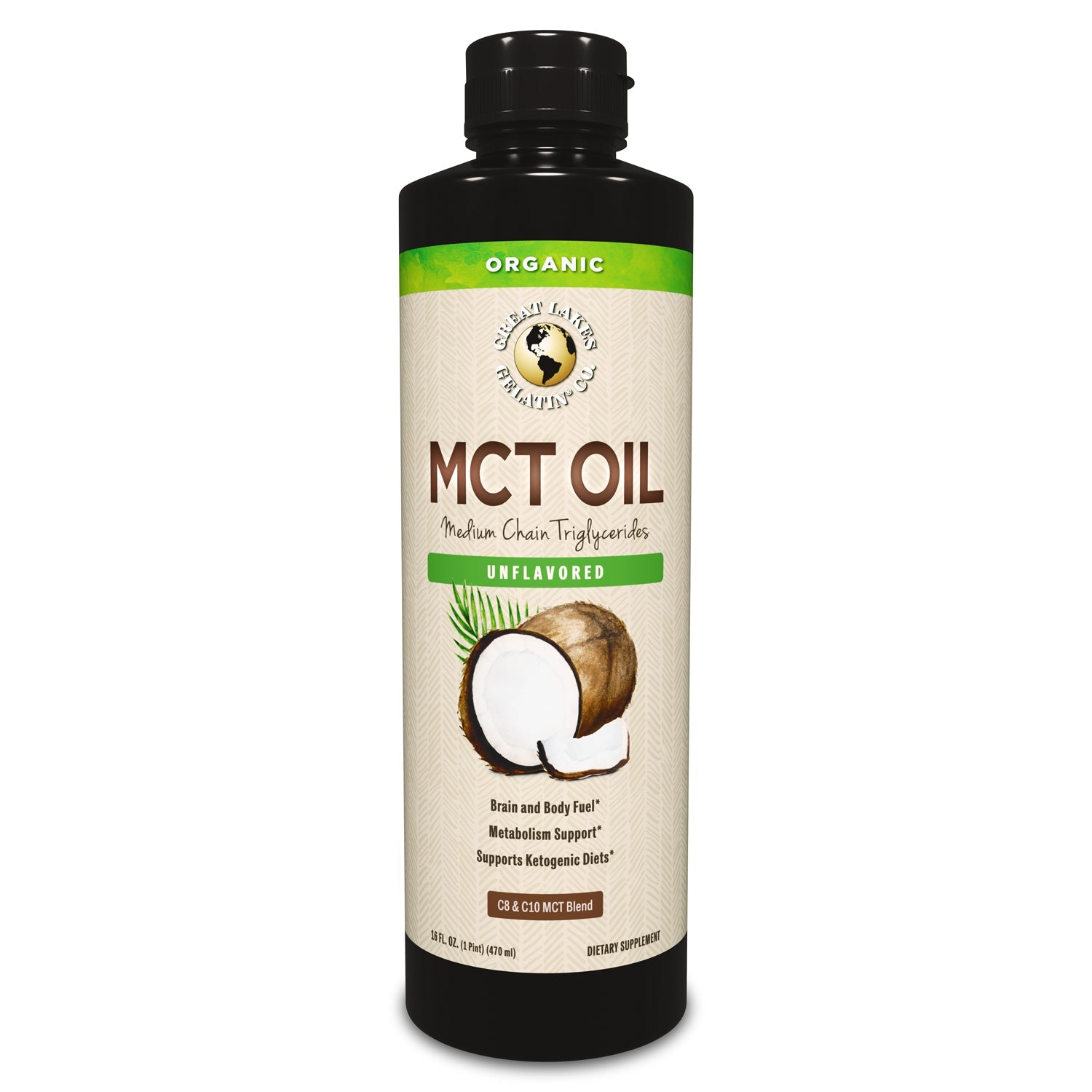16 fl. oz. Organic MCT Oil
