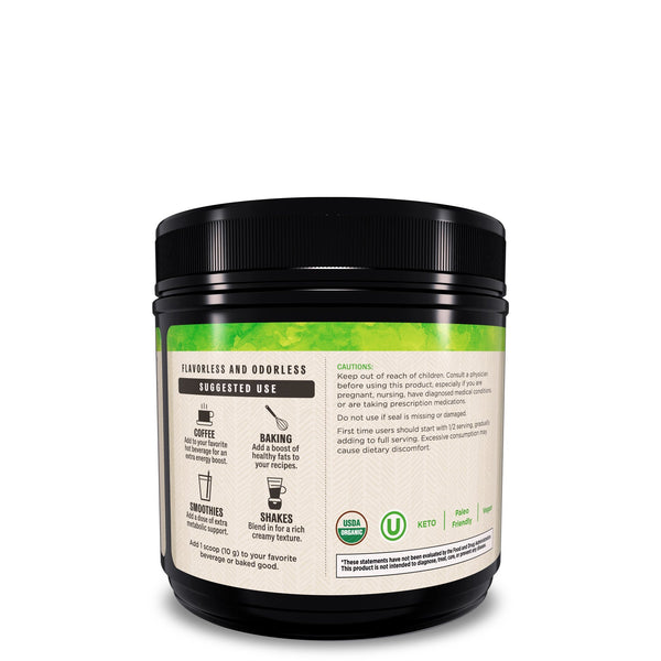 10.6 oz. Organic MCT Powder