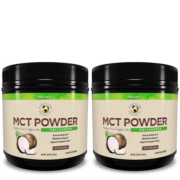 10.6 oz. Organic MCT Powder*