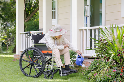 Wellbeing and disabled gardeners
