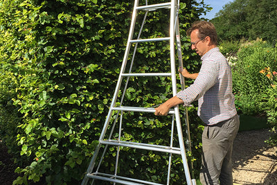Technology in the garden - Tripod ladder knowhow