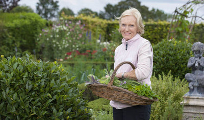 The unexpected gardener - Mary Berry