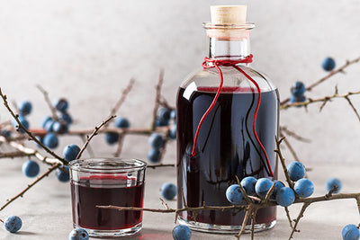 Seasonal produce - sloe gin