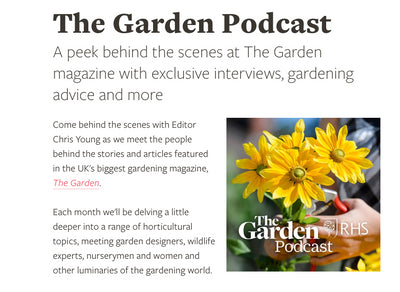 Our podcast pick - The Garden Podcast