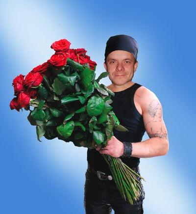 Sending Flowers to Your Man