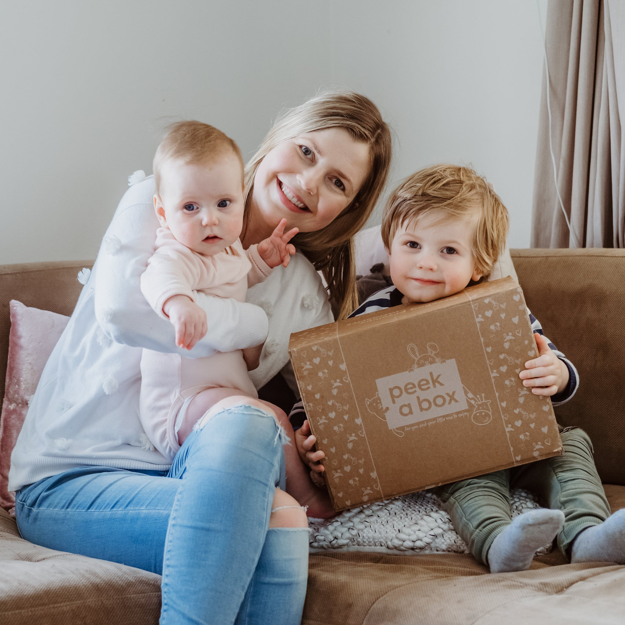 PeekaBox | Family with PeekaBox