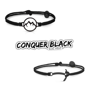 Conquer Black Dual Pack