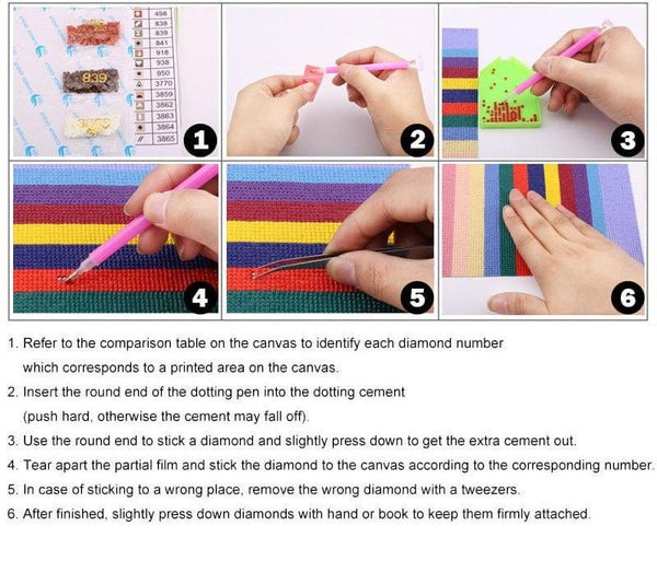 How To Diamond Paint
