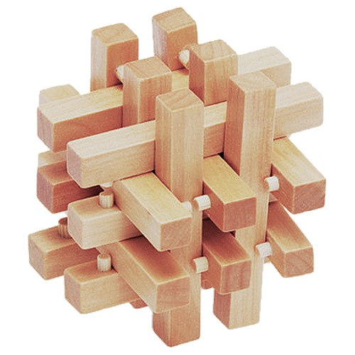 Chinese Traditional Wooden Puzzles