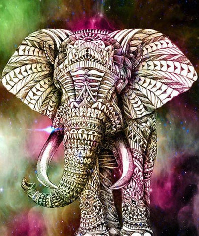 Elephant Diamond Painting