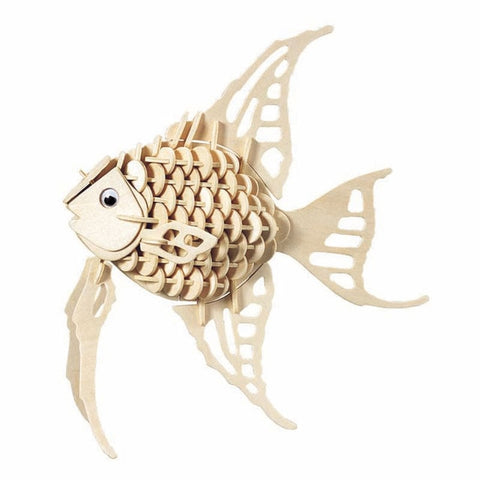Angel Fish 3D Wooden Puzzle