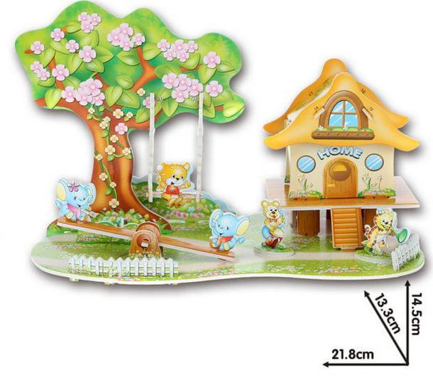 Countryside House 3D Puzzle