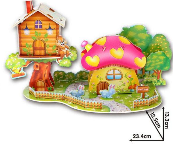 Tree House 3D Puzzle