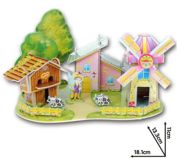 Windmill Farm 3D Puzzle