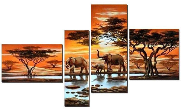 Elephant Multi-picture Diamond Painting