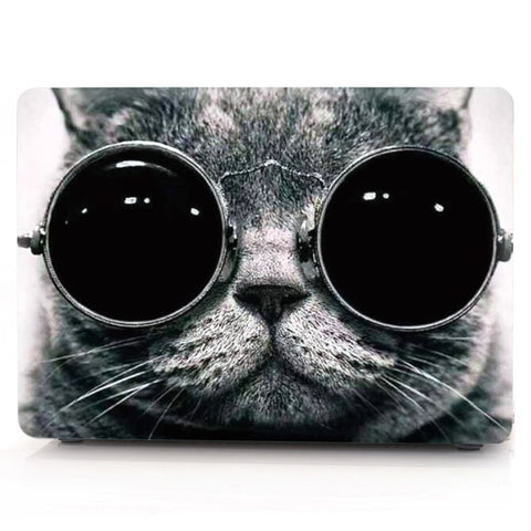 Cute Cat With Goggles On - Macbook Case, iPad Case, Case Rabbit,  - Macbook Case, iPad Case, Case Rabbit, Case Rabbit - Macbook Case, iPad Case, Case Rabbit
