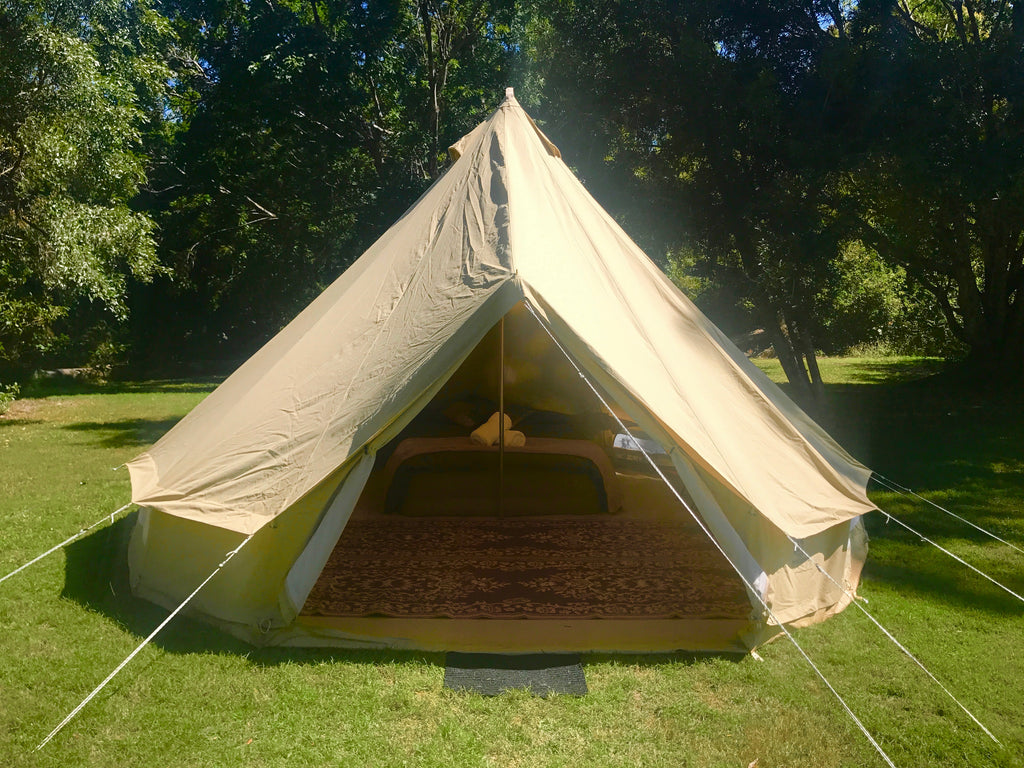 3-4 Person Glamping Tent @ Tropical Bloom Festival