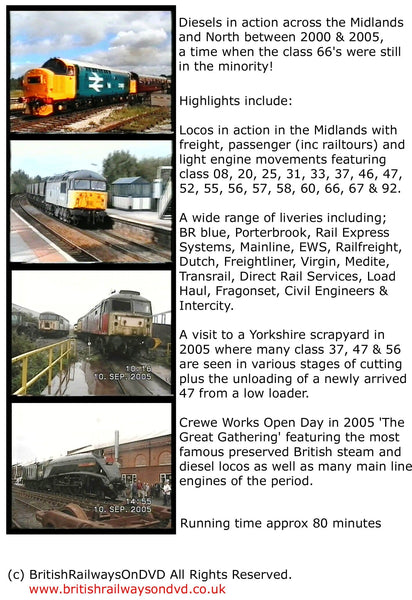BR in the 2000s: Midlands & the North - Railway DVD