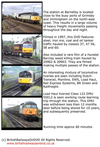 Locomotives in action at Barnetby 1997 - Railway DVD