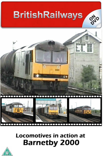 Locomotives in action at Barnetby 2000