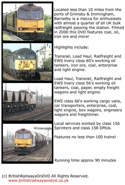 Locomotives in action at Barnetby 2000 - Railway DVD