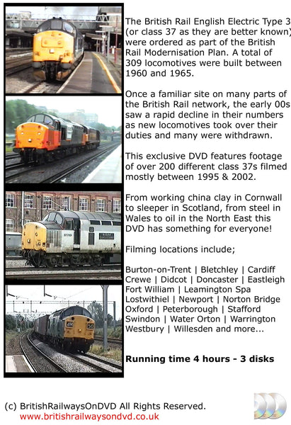 The Power of the Class 37 - Railway DVD